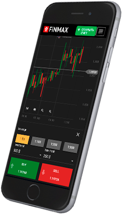 Finmax app für mobiles Trading