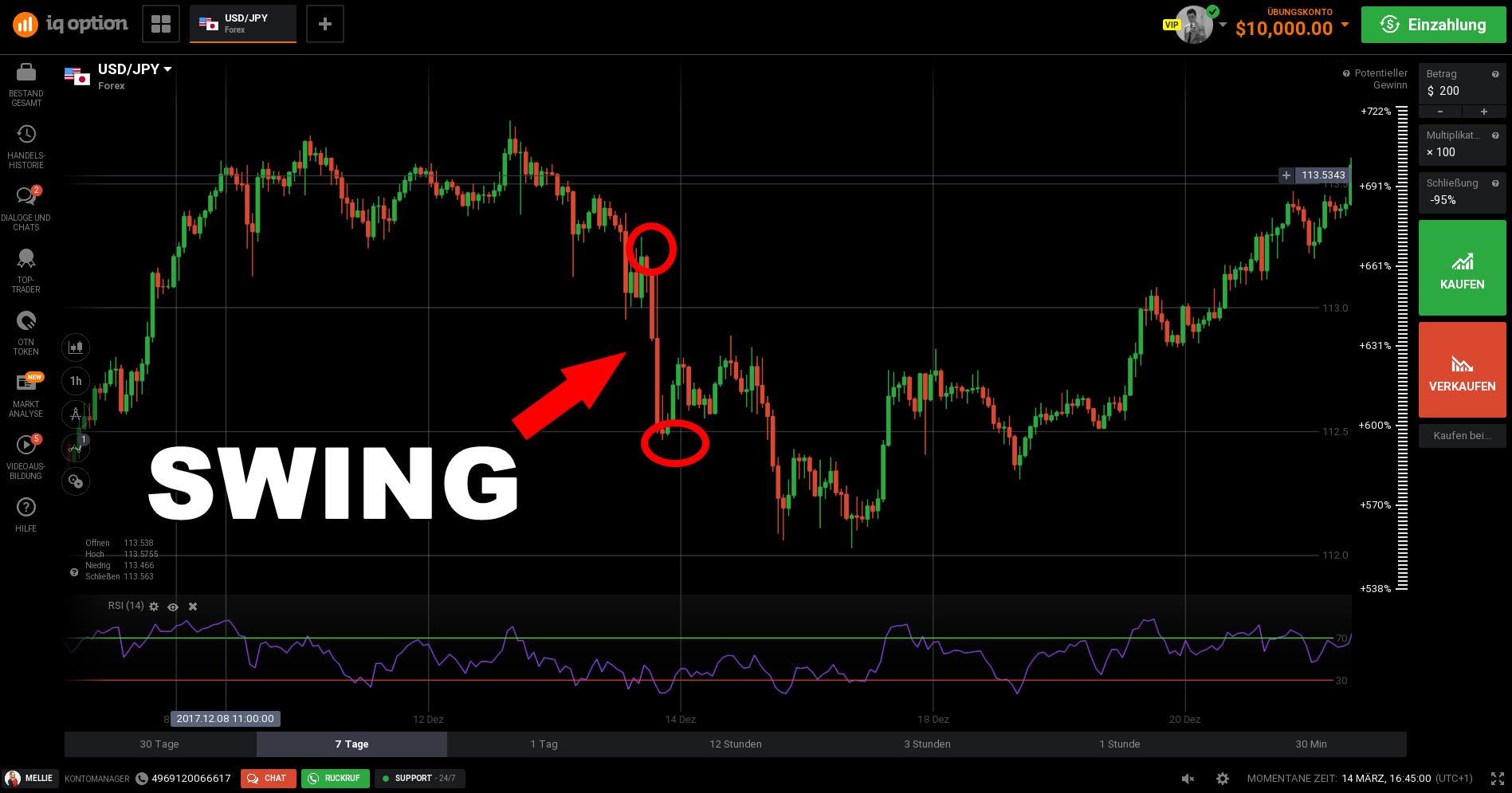 Fibonacci options trading