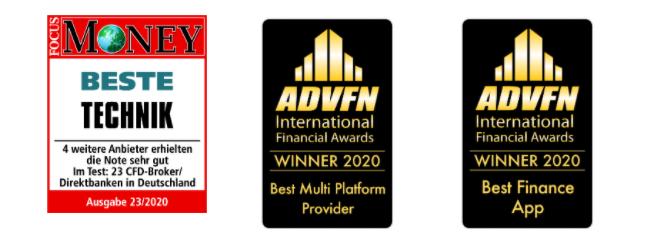 Auszeichnungen der IG App