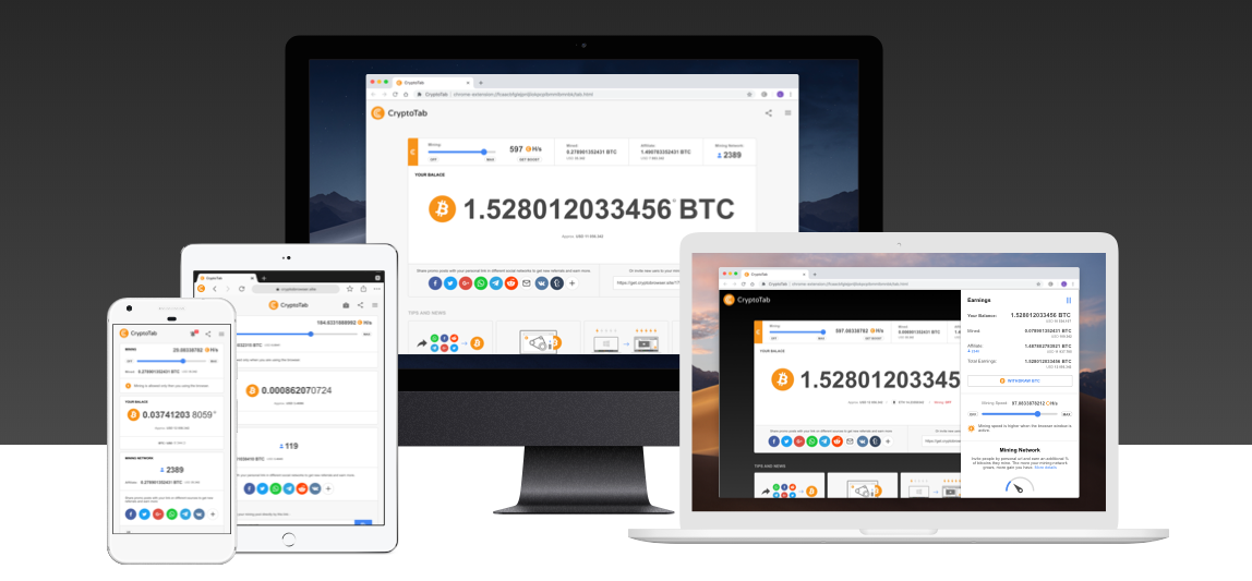 Cryptotab Software