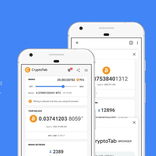 Cryptotab per App