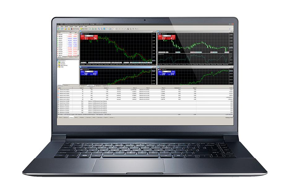 HF Markets MetaTrader 4 Trading Plattform