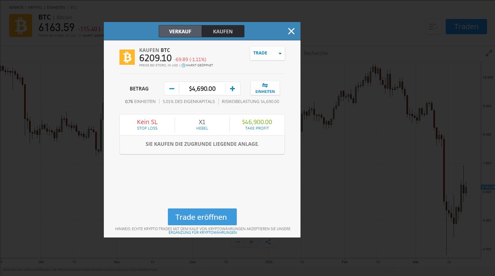 Kaufen Sie Bitcoin bequem per Online Plattform