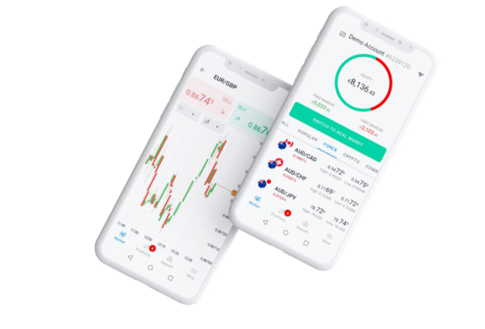 Mobiles Daytrading Demokonto