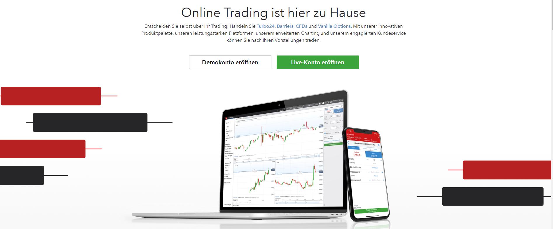 Offizielle Webseite von IG Markets