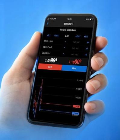 Schneller Handel per App bei RoboForex