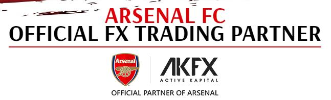 AKFX ist Partner von Arsenal London