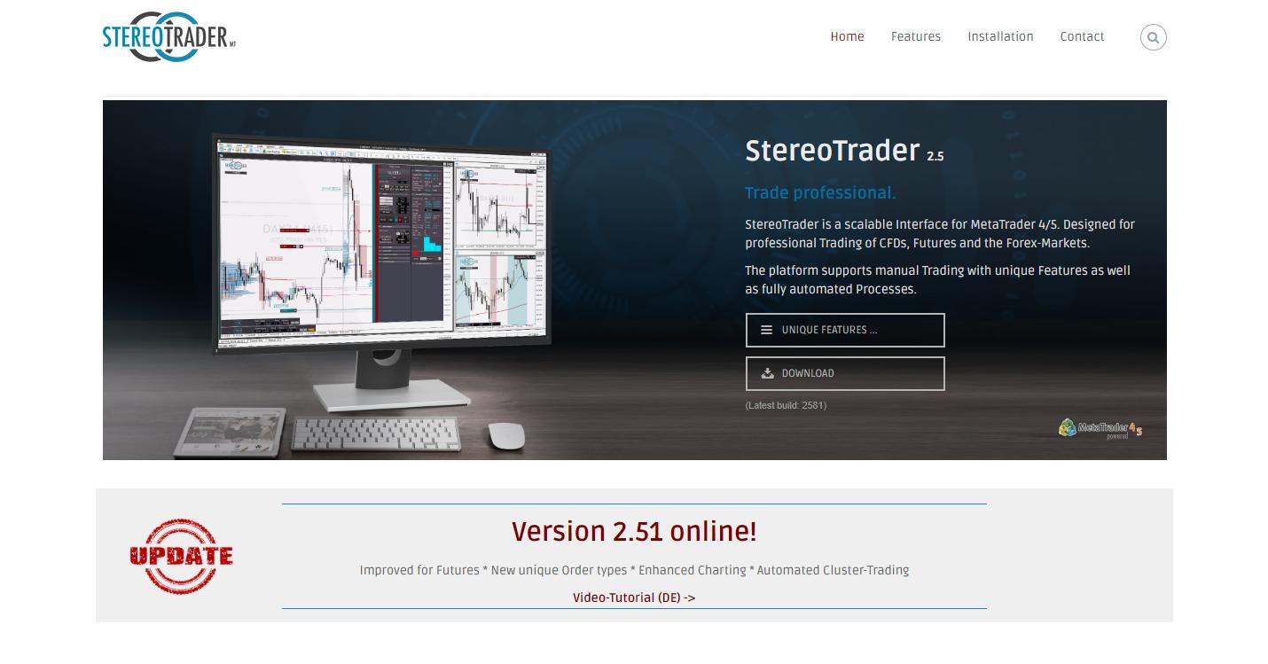 Offizielle StereoTrader Webseite