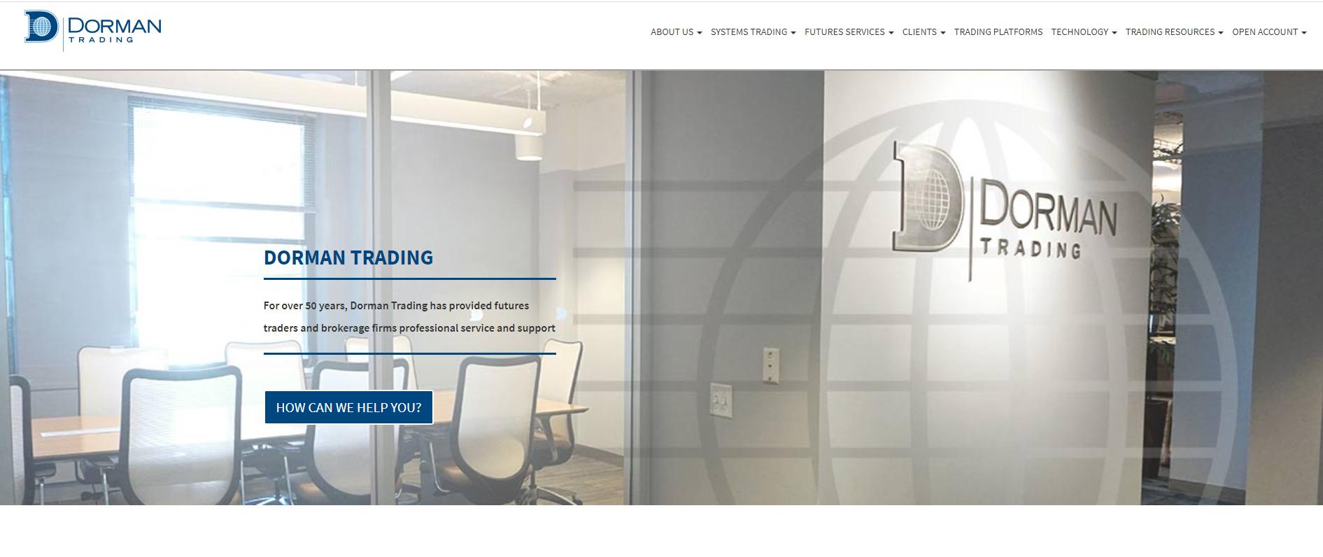 Offizielle Webseite von Dorman Trading