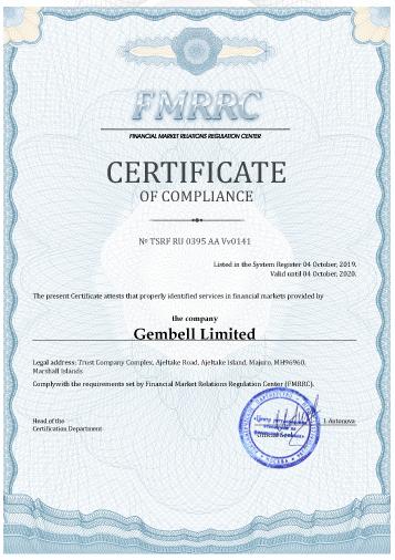 Pocket Option FMRRC Regulierung