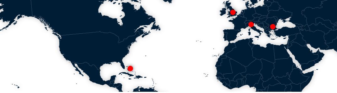 ActivTrades ist weltweit vertreten