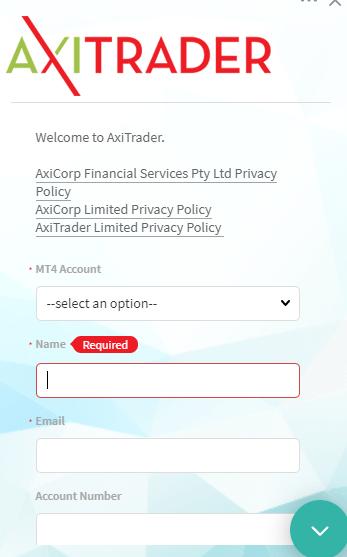 AxiTrader Chat