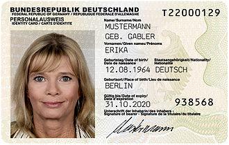 Broker fragen nach Personalausweis