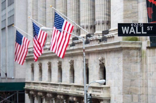 Der Aktienmarkt an der Wallstreet