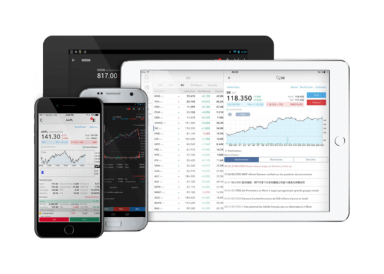 Mobile App von CapTrader