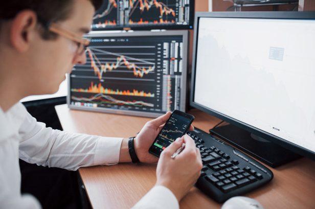 Trading Desk für die Analyse