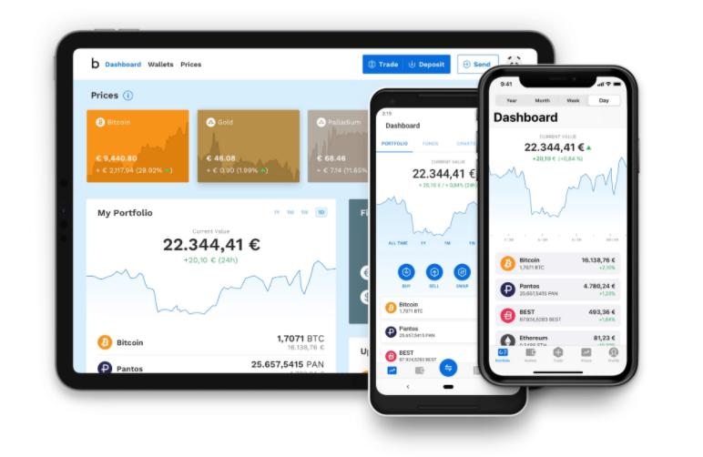 Bitpanda To Go App