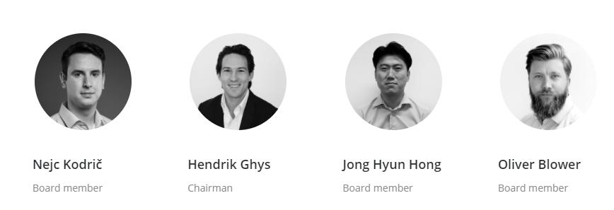 Bitstamp Board of Directors