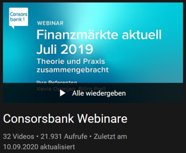 Consorsbank Depot Erfahrungen