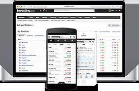 Investing.com portfolio