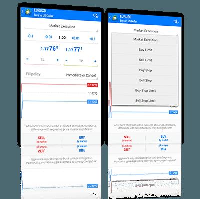 JFD Bank Metatrader 5 App