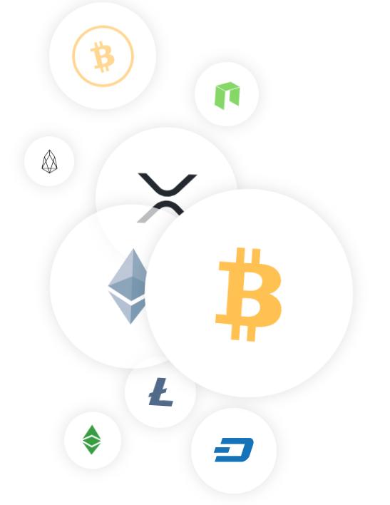 Kryptowährungen Symbole