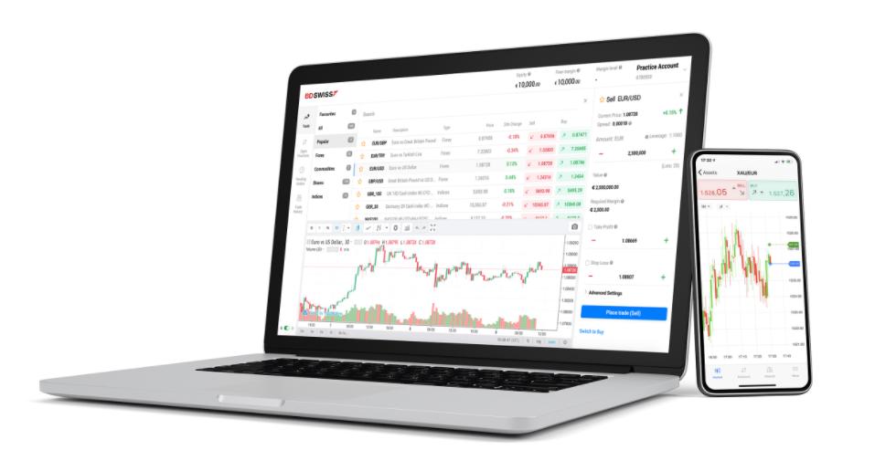 Trading Plattform von BDSwiss