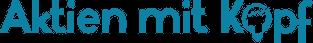 Aktien mit Kopf Logo