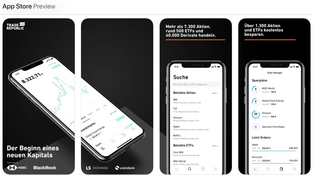 App Store Trade Republic App Download