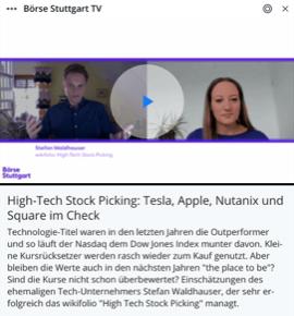 Guidants Börse Stuttgart TV