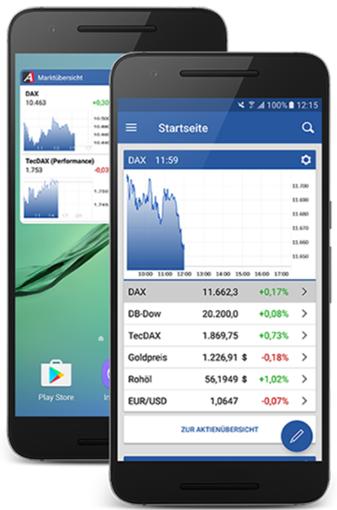 Mobile App Ariva.de