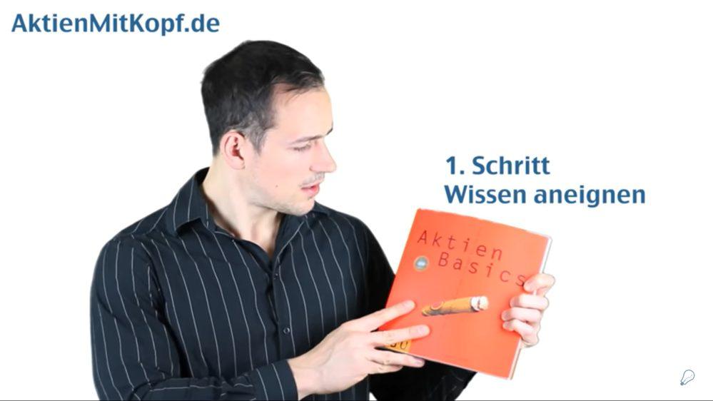 Screenshot aus Video Aktien mit Kopf
