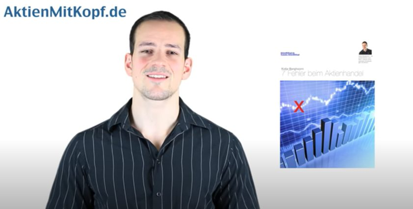 Screenshot aus YouTube Video Aktien mit Kopf