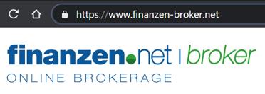 Sicherheit Finanzen-Broker.net
