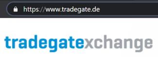 Sicherheit Tradegate Exchange