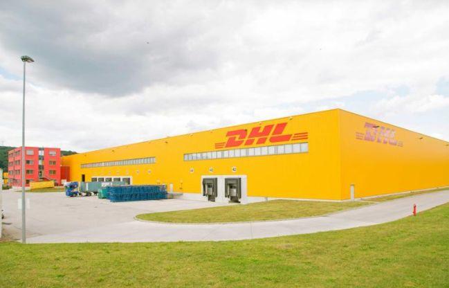 DHL Logistikzentrum Versandhandel