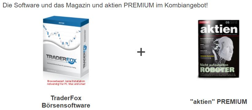 Kombi-Angebot Software Magazin aktien Premium