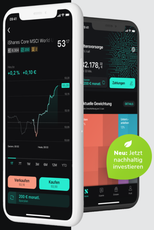 Mobile Trading App Scalable Capital