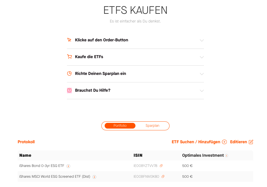 Quin ETF Kaufen