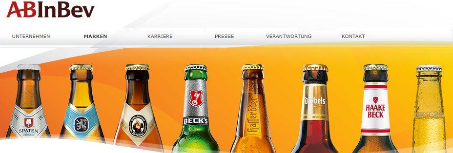 Deutsche Marken Ab Inbev Bier Aktien kaufen
