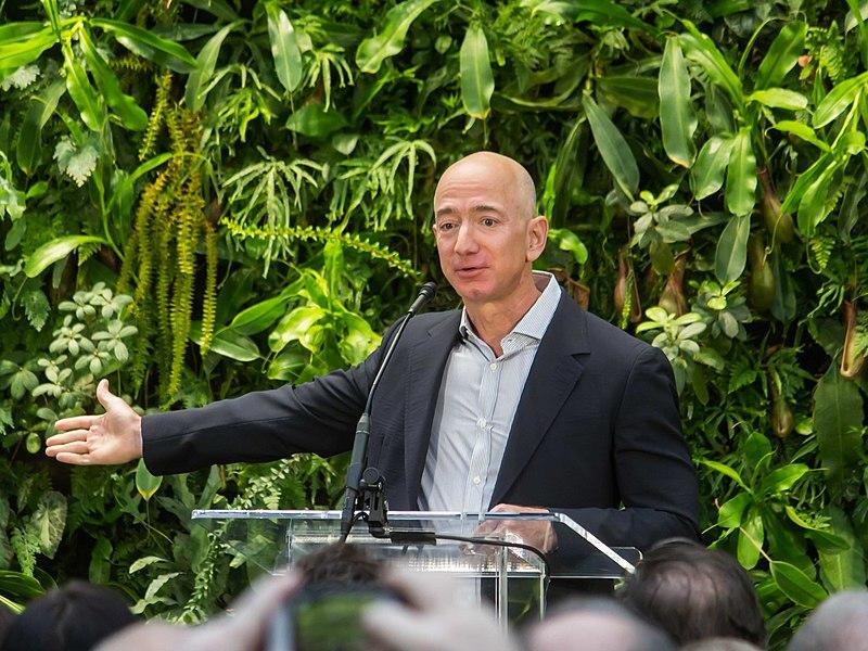 Jeff Bezos Amazon Aktien kaufen