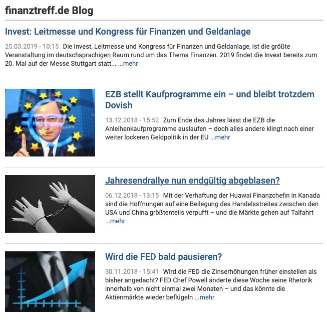 Finanztreff Blog