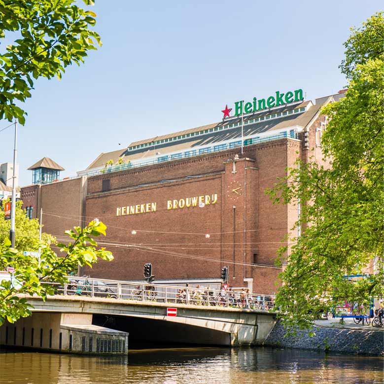 Heineken-Brauerei in Amsterdam
