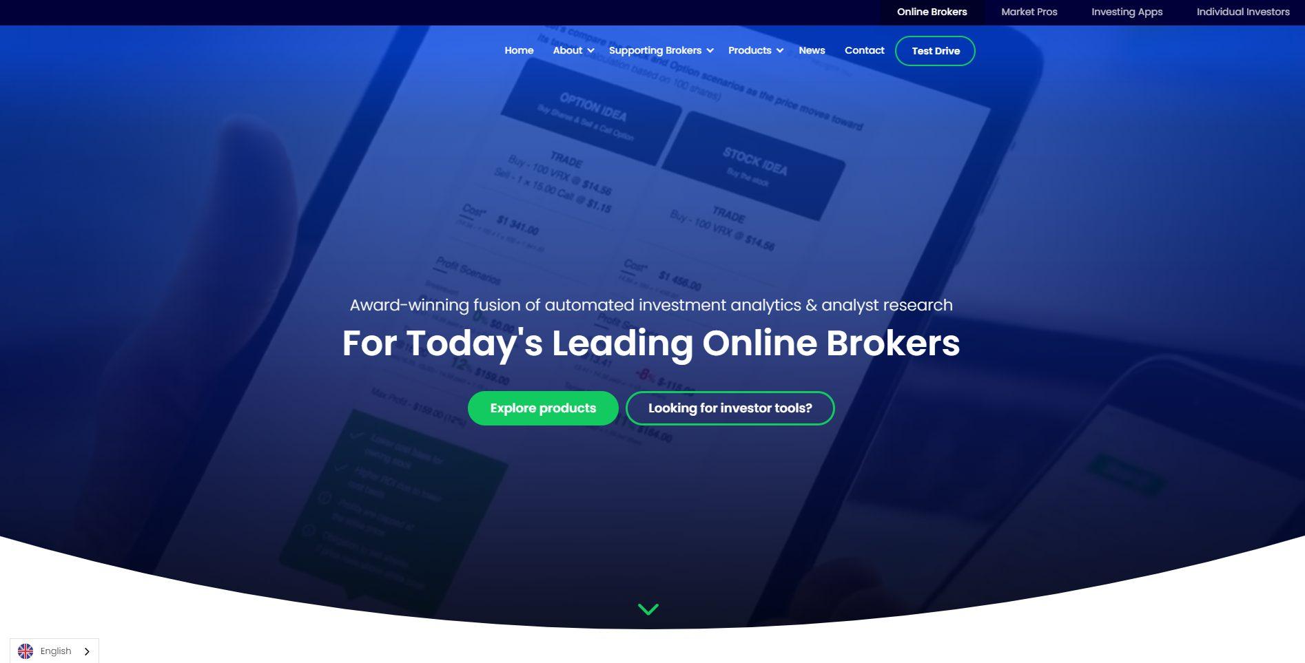 Offizielle Webseite von Trading Central