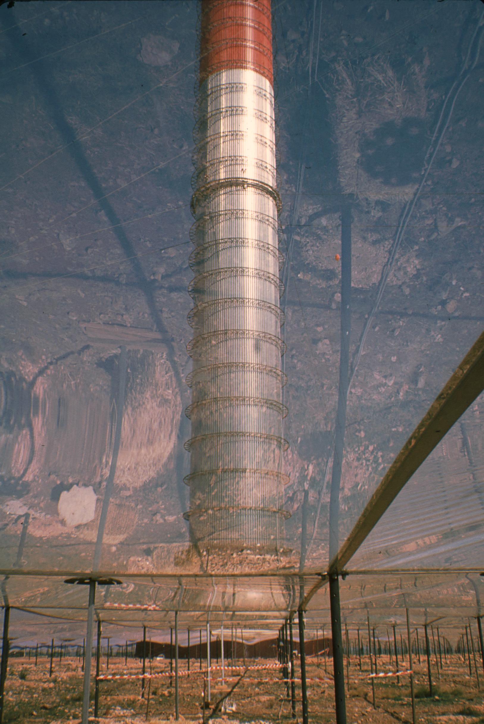 Pilotprojekt Aufwindkraftwerk Manzanares