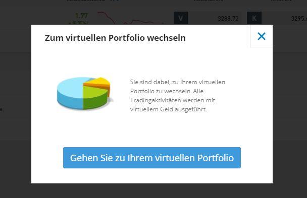 E-Commerce-Aktien im virtuellen Konto kaufen