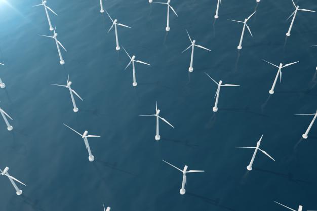 Windpark erneuerbare Energien
