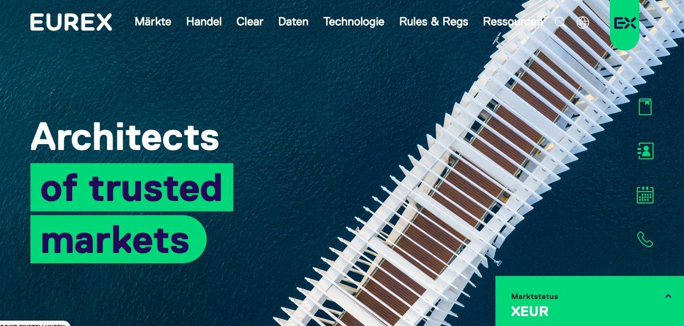 Eurex Webseite