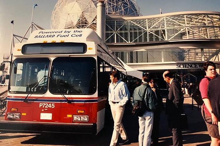 Ballard Power Systems Bus Brennstoffzellen Aktien kaufen