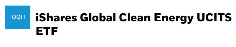 ishares clean energy etf kaufen